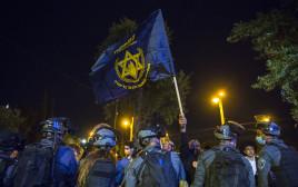 """המשטרה אוכפת את ההפגנה של להב""""ה"""
