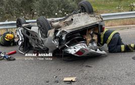 תאונת דרכים בכביש 444