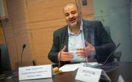 מנסור עבאס בוועדה המיודת לענייני החברה הערבית