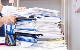 ערימת מסמכים