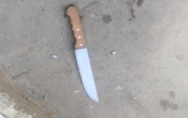 הסכין בה נעשה שימוש בניסיון הפיגוע בגוש עציון