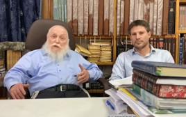 הרב דרוקמן ובצלאל סמוטריץ