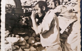 יצחק גבירץ בקרב על ליפתא 1948