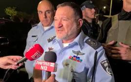 """מפכ""""ל המשטרה יעקב שבתאי בהערכת מצב בלוד"""