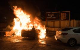 המהומות בעיר עכו, אמש