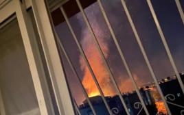 שריפת בית כנסת בלוד