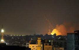 תקיפות ישראליות ברצועת עזה