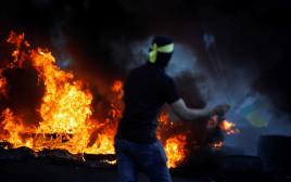 הפרות סדר אלימות בגדה המערבית סמוך לשכם