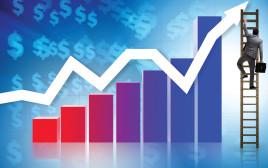 גרף אינפלציה אדום