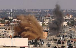 הפצצה ברצועת עזה