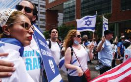 """תמיכה ישראלית בארה""""ב"""
