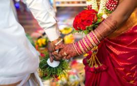 חתונה הודית, אילוסטרציה