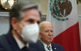 נשיא ארצות הברית ג'ו ביידן ואנת'וני בלינקן