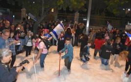 מפגינים מול מעון בית ראש הממשלה