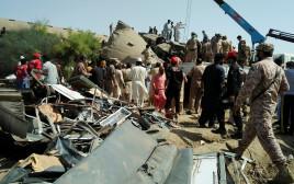 תאונת רכבות בפקיסטן