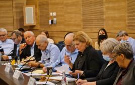 דיון בוועדת החוץ והביטחון