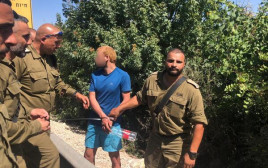 מעצר המסתנן בגבול לבנון