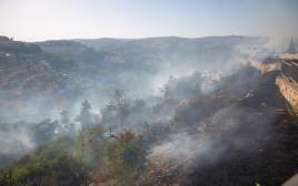 שריפה בליפתא, ירושלים