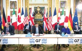 כינוס ה-G7 בלונדון