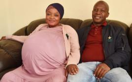 הזוג שהביא לעולם 10 תינוקות בבת אחת