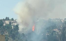 שריפה במבשרת ציון