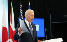 ג'ו ביידן בפסגת ה-G-7
