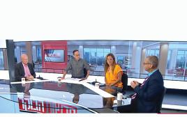 פאנל תכנית הבוקר של ניב רסקין בערוץ 12