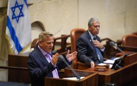 שר הבריאות הורוביץ במליאת הכנסת