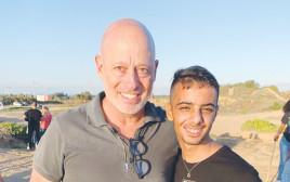 תומר אבנון והחניך שלו אור מכפר הנוער הדסה נעורים