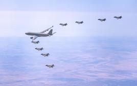 """מטוסי F-35 ישראלים בתרגיל בינ""""ל"""