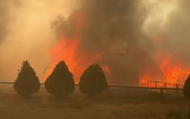 שריפות בקנדה