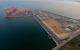 הנמל החדש במפרץ חיפה