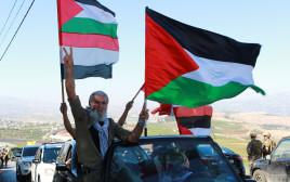 מפגינים בגבול ישראל-לבנון