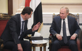 נשיא רוסיה ונשיא סוריה
