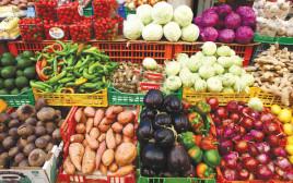 דוכן פירות וירקות
