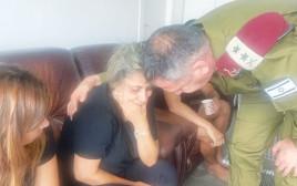 """הרמטכ""""ל מנחם את אמו של בראל חדריה שמואלי ז""""ל"""