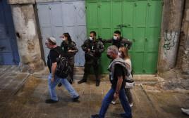 היערכות המשטרה לאירועי תפילות יום כיפור בירושלים