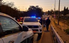 משטרת ישראל חוקרת את אירוע דריסת המתנדב והשוטר בנהריה