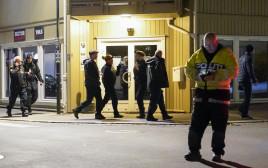 כוחות משטרת נורבגיה בזירת האירוע