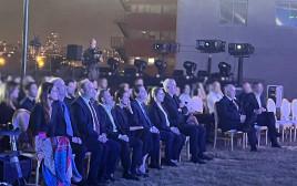 בכירי המדינה באירוע הפרידה מנדב ארגמן