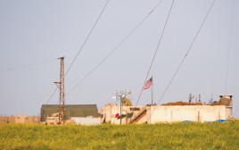 בסיס אמריקאי בסוריה