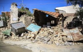 רעידת אדמה ביוון