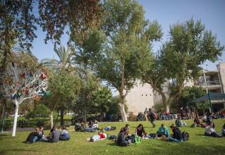 סטודנטים בקמפוס רחובות של האוניברסיטה העברית, ארכיון (למצולמים אין קשר לנאמר בכתבה)