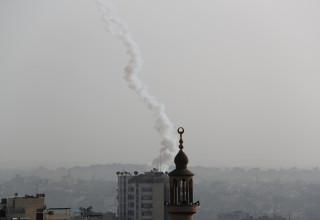 ירי רקטות מרצועת עזה