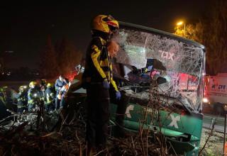 התאונה סמוך לצומת בדק