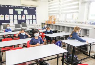 קורונה בבתי הספר (למצולמים אין קשר לנאמר בכתבה)