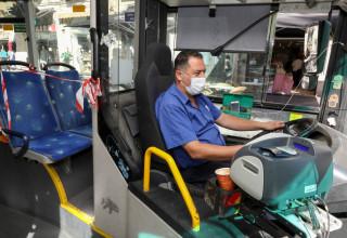 אוטובוס בימי קורונה