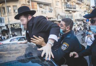עימות בין המשטרה לחרדים במאה שערים