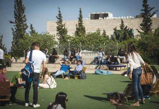 סטודנטים באוניברסיטת חיפה