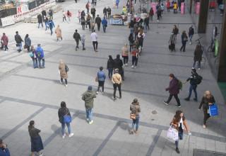 רחובות גרמניה בימי הקורונה
